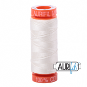 Aurifil 50 Cotton Thread - 2026 (Chalk)